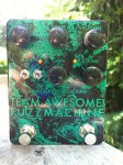 black sparkle smallsound/bigsound tafm bass fuzz pedal