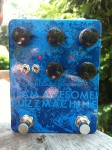 blue sparkle smallsound/bigsound tafm bass fuzz pedal